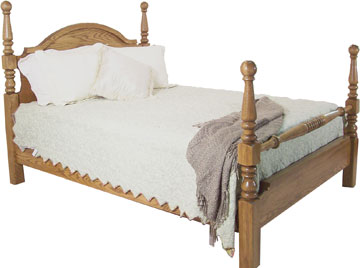 Yutzy Cannonball Bed Solid
