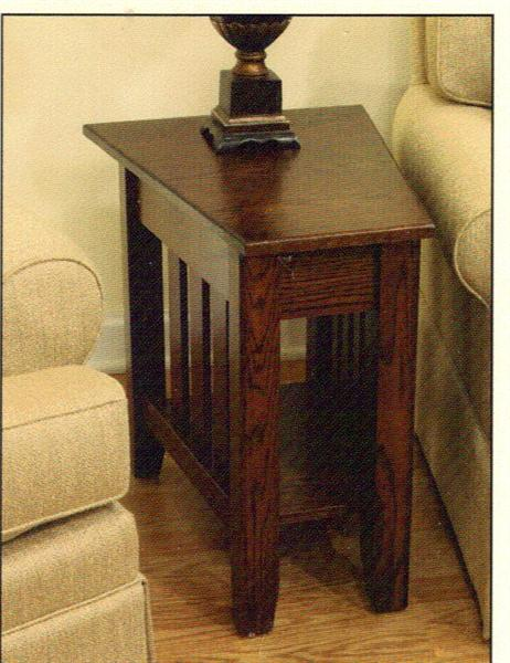 Exceptional Mission Wedge Table